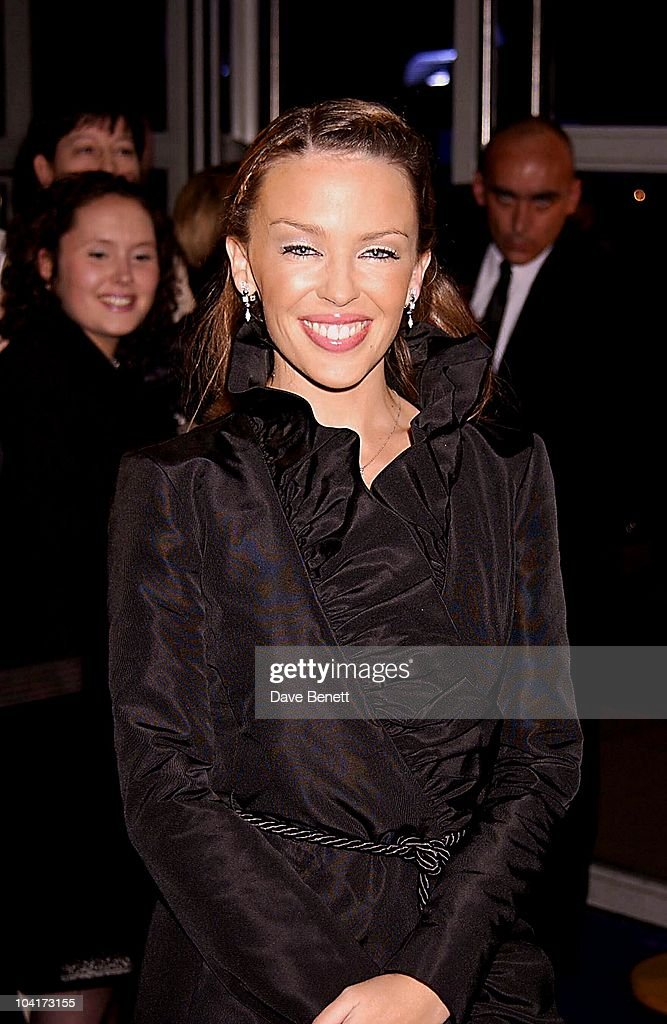 Kylie Minogue, Brit Awards 2002 At Earls Court, London