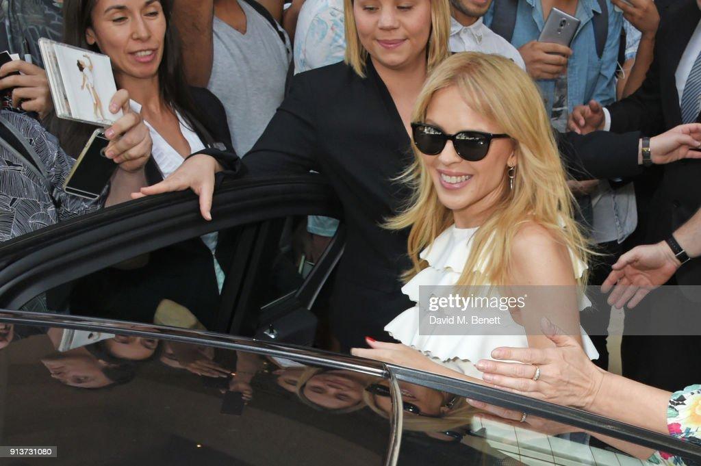 Kylie Minogue At ABB FIA Formula E Antofagasta Minerals Santiago E-Prix