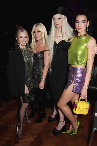 GBR: Frieze And Versace Celebrate London's Creative Community