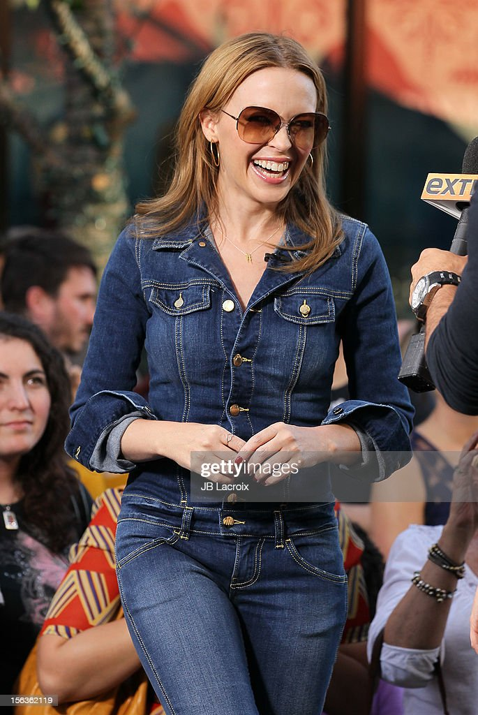 Kylie Minogue is seen at The Grove on November 13, 2012 in Los Angeles, California.