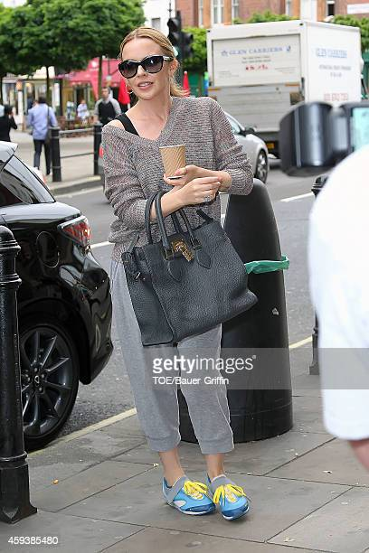 Kylie Minogue is seen on May 31 2012 in London United Kingdom