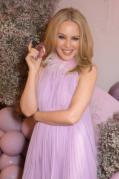 GBR: Kylie Minogue 'Darling' Fragrance Launch