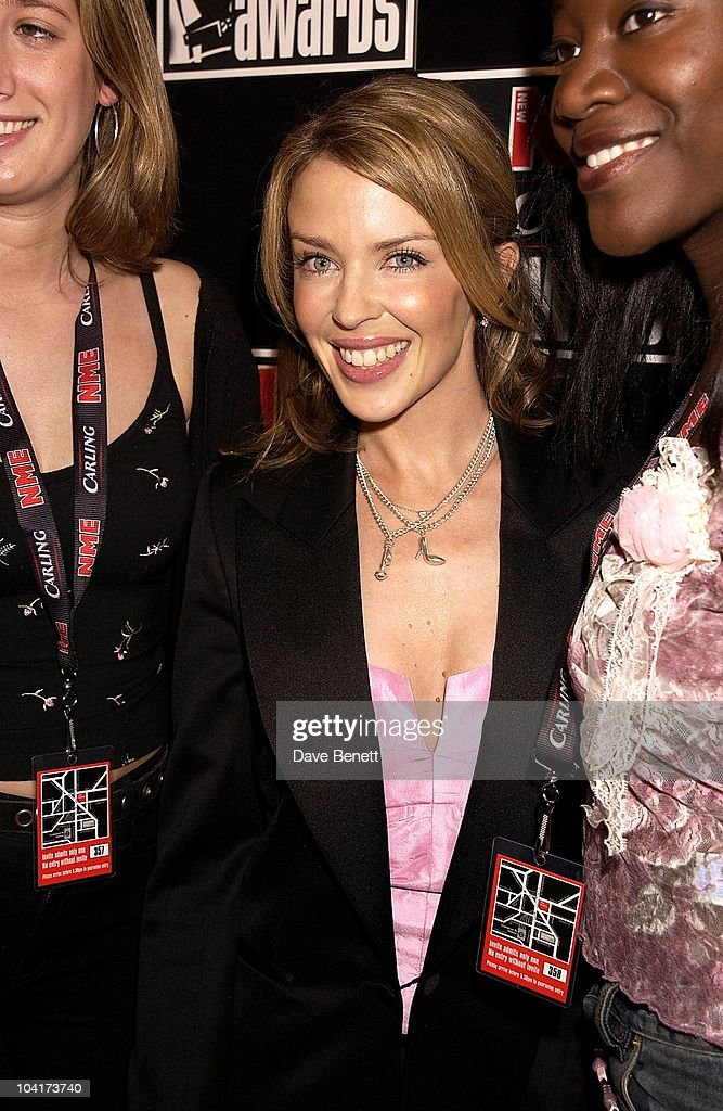 Kylie Minogue, Nme Carling Awards 2002, In Shoreditch, London