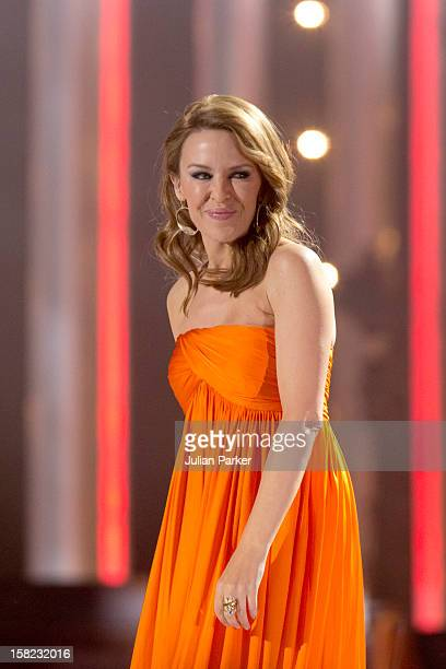 Kylie Minogue performs at the Nobel Peace Prize concert at Oslo Spektrum on December 11 2012 in Oslo Norway