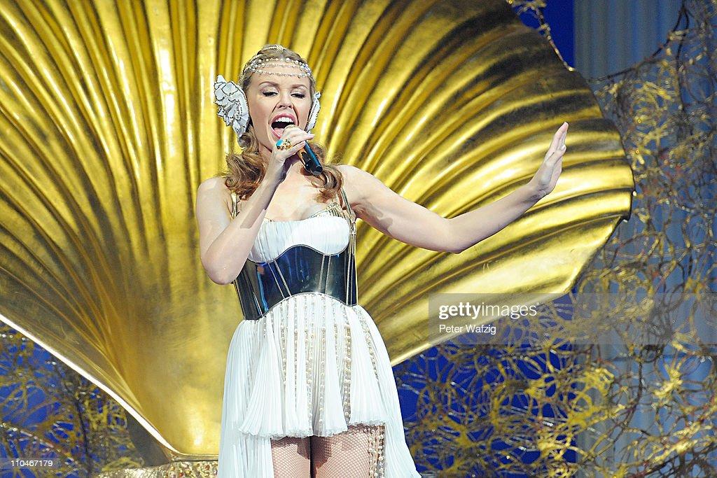Kylie Minogue In Concert : Nachrichtenfoto