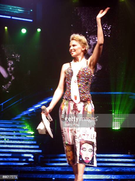 Kylie Minogue Opening Night Of Show Homecoming Tour At