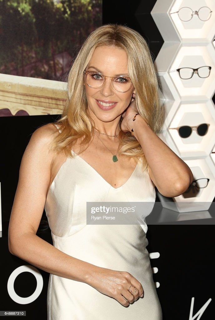 Kylie Minogue Launches Eyewear Collection