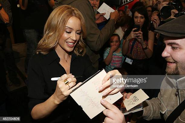 36 The Voice Australia Grand Finale Event With Kylie Minogue