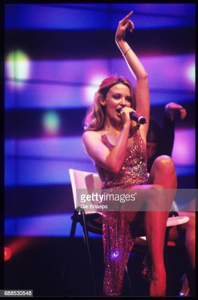 Kylie Minogue TMF Awards Flanders Expo Gent Belgium