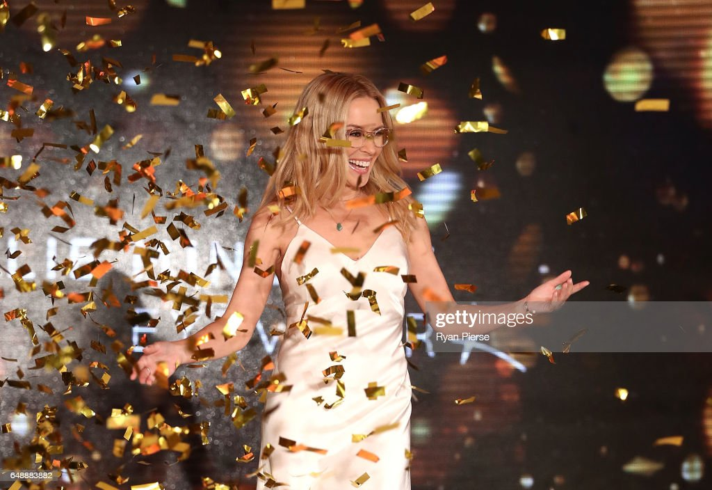 Kylie Minogue Launches Eyewear Collection : News Photo