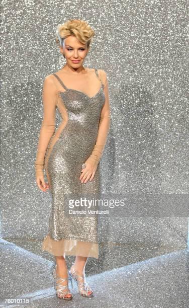 Kylie Minogue wearing Dolce & Gabbana