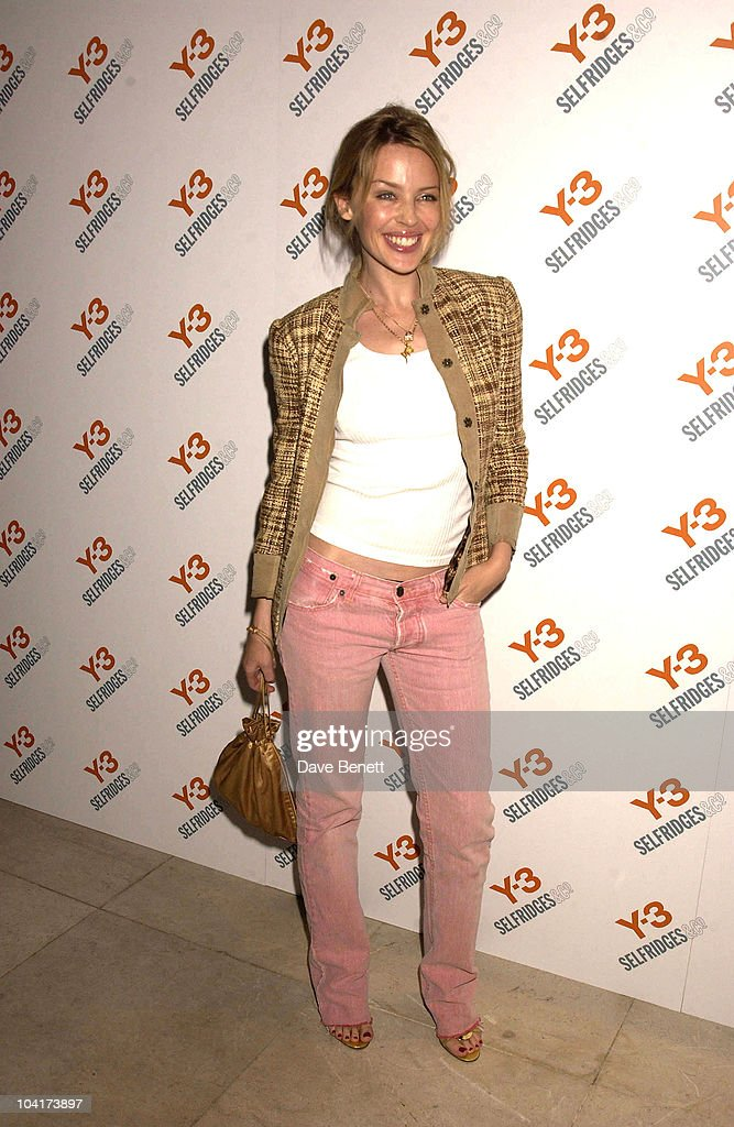 Kylie Minogue, Y3 Yamamoto Party At Sketch, London