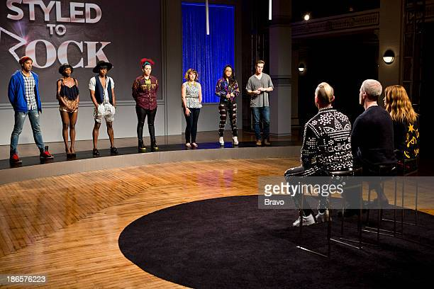 ROCK 'Kylie Minogue's Look of the Future' Episode 102 Pictured Contestants Adam Christoffel Ebony White Dexter Simmons Adriana Diaz Kristie Metcalf...