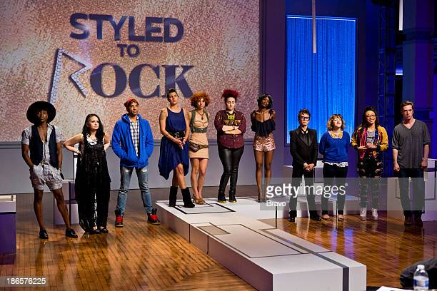 ROCK 'Kylie Minogue's Look of the Future' Episode 102 Pictured Contestants Dexter Simmons Autumn Kietponglert Adam Christoffel Laura PetrielliPulice...