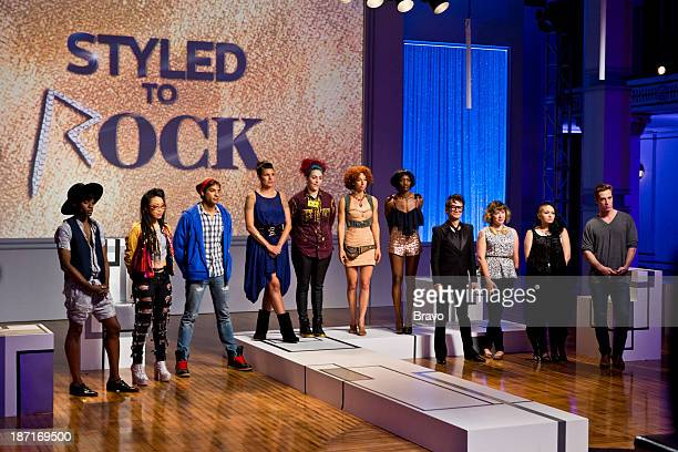 ROCK 'Kylie Minogue's Look of the Future' Episode 102 Pictured Contestants Dexter Simmons Cecilia Aragon Adam Christoffel Laura PetrielliPulice...