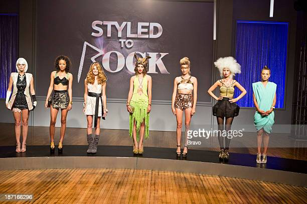 ROCK 'Kylie Minogue's Look of the Future' Episode 102 Pictured Models wearing designs by Cecilia Aragon Adriana Diaz Adam Christoffel Dexter Simmons...