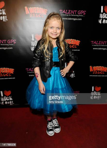 Kylie Rogers attends the Shamrock and Roll Concert for St. Jude's Children's Hospital on March 17, 2012 in Los Angeles, California.