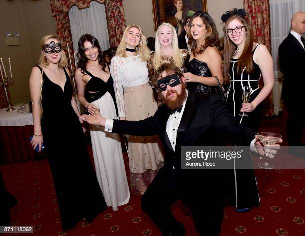 Kylie Thoman Sophia Robert Fiona Robert Isabelle Marino Julia Buonano Isabelle Simone and Jack Erichson attend Search and Care's Annual Yorkville...