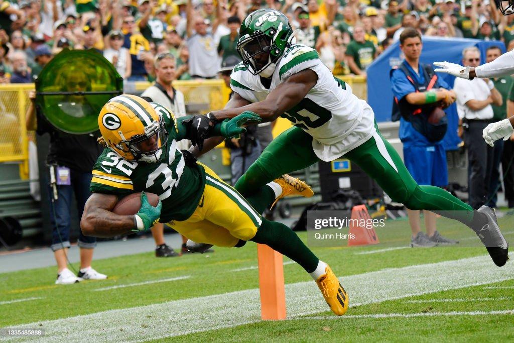 New York Jets v Green Bay Packers : Nachrichtenfoto