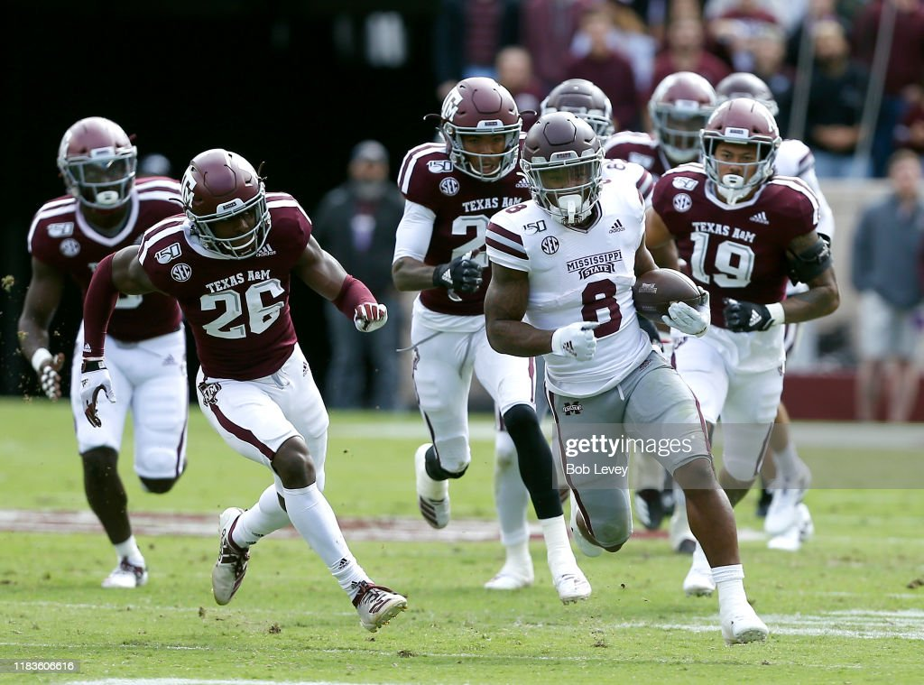 Mississippi State v Texas A&M : News Photo