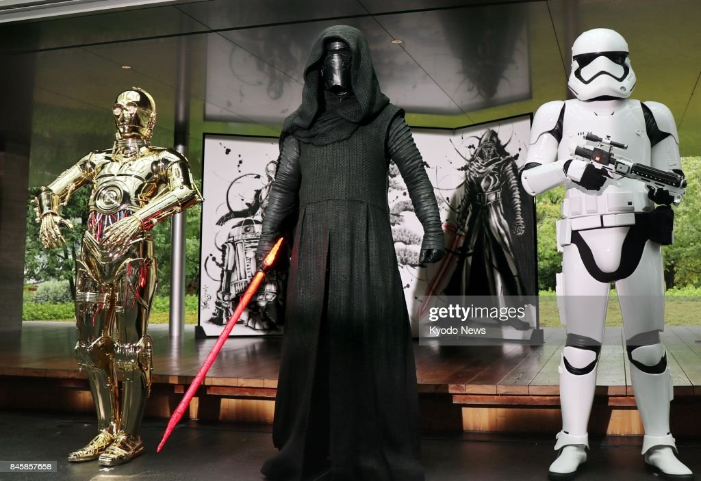 Star Wars promotional event in Kyoto : News Photo