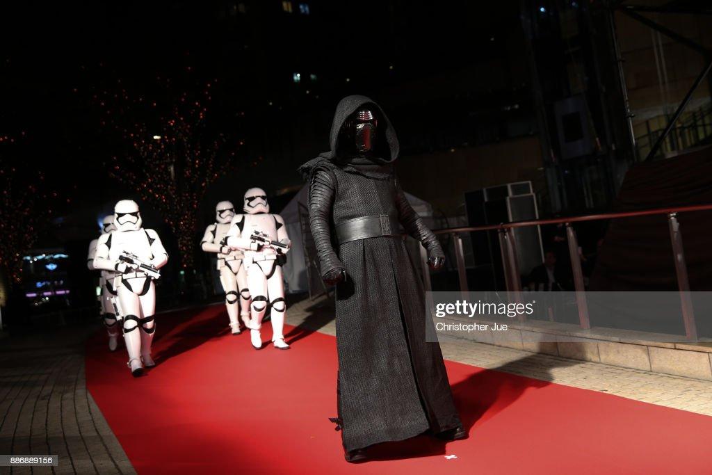 'Star Wars: The Last Jedi' Japan Premiere & Red Carpet : News Photo