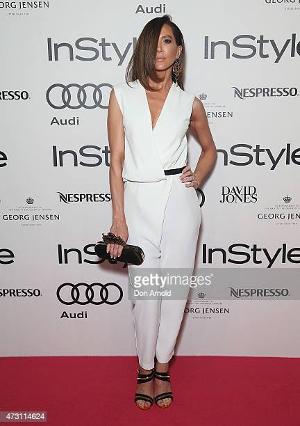 Kyly Clarke arrives at the 2015 Women of Style Awards at Carriageworks on May 13 2015 in Sydney Australia