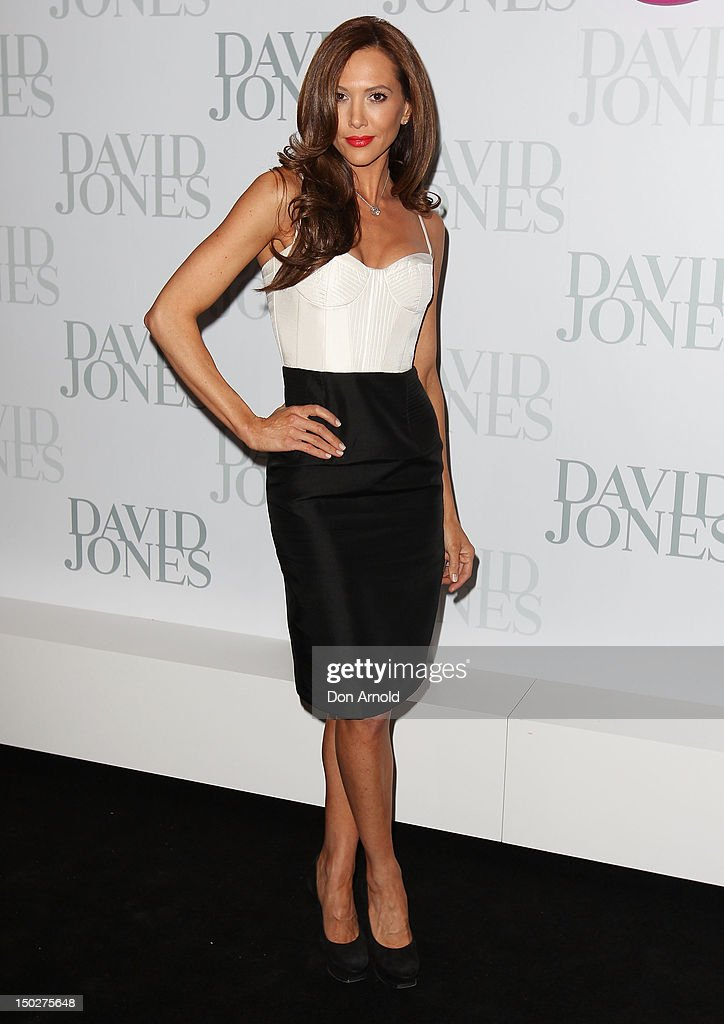 Kyly Clarke attends the David Jones S/S 2012/13 Season Launch at David Jones Castlereagh Street, on August 14, 2012 in Sydney, Australia.