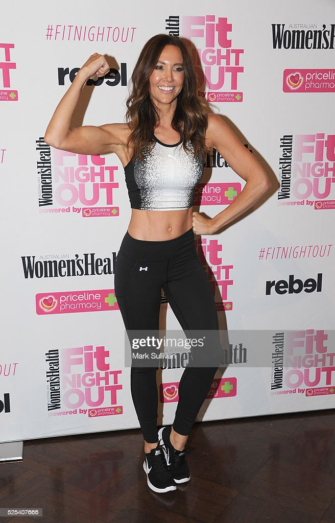 Women's Health Fit Night Out Launch