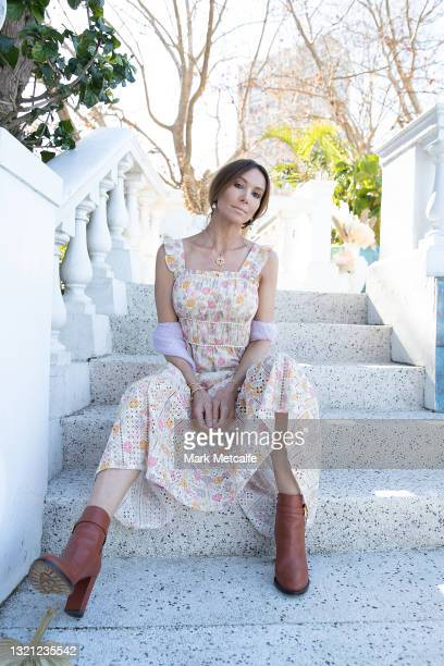 Kyly Clarke attends the We Are Kindred show during Afterpay Australian Fashion Week 2021 Resort '22 Collections at Villa Orme on June 02, 2021 in...