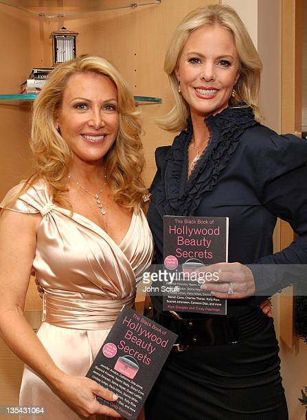 Kym Douglas and Cheryl Woodcock during The Black Book of Hollywood Beauty Secrets Debut Party Hosted by Kelly and Martin Katz at Martin Katz Ltd in...