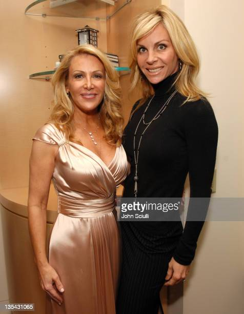 Kym Douglas and Cindy Ambuehl during The Black Book of Hollywood Beauty Secrets Debut Party Hosted by Kelly and Martin Katz at Martin Katz Ltd in Los...