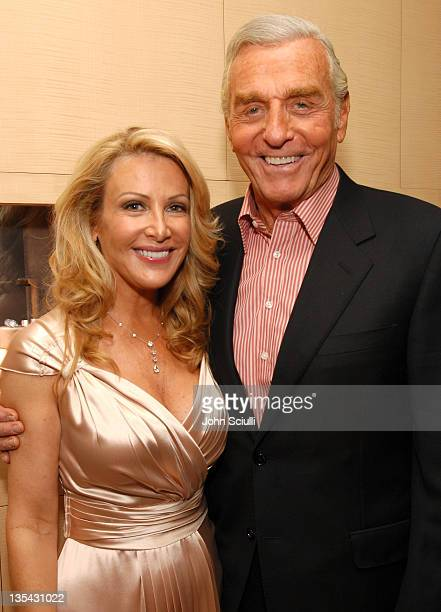 Kym Douglas and Jerry Douglas during The Black Book of Hollywood Beauty Secrets Debut Party Hosted by Kelly and Martin Katz at Martin Katz Ltd in Los...