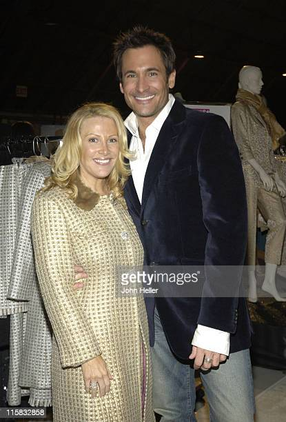 Kym Douglas and Lawrence Zarian during Ryan Seacrest and Tisha CampbellMartin to Receive Divine Design Man and Woman of Style Awards at Barker Hanger...