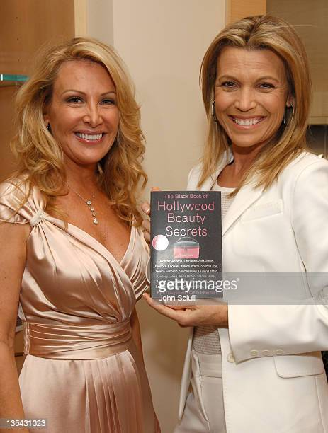 Kym Douglas and Vanna White during The Black Book of Hollywood Beauty Secrets Debut Party Hosted by Kelly and Martin Katz at Martin Katz Ltd in Los...