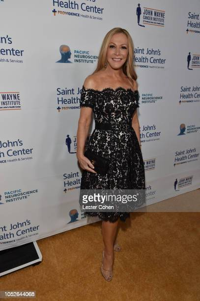 Kym Douglas attends the Saint John's Health Center Foundation Gala at The Beverly Hilton Hotel on October 20 2018 in Beverly Hills California