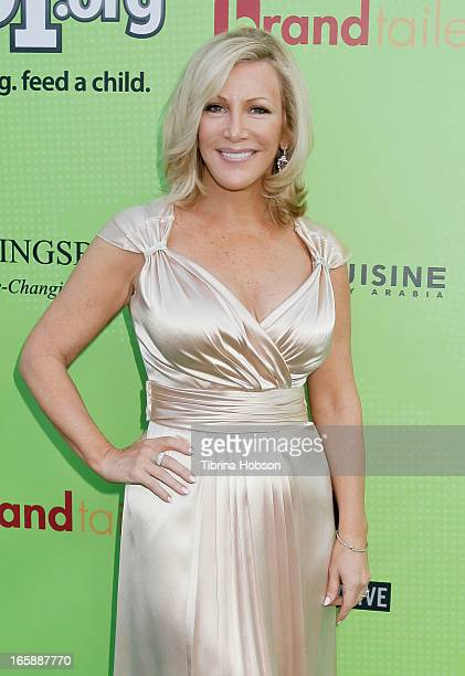 Kym Douglas attends the Skip1org's 'Skip And Donate' gala event at The Lot on April 6 2013 in West Hollywood California