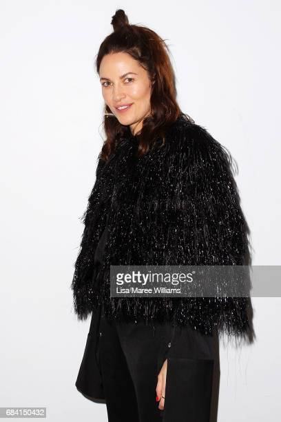 Kym Ellery arrives ahead of the Ellery X Etihad Airways event at MercedesBenz Fashion Week Resort 18 Collections at The Elston Room Carriageworks on...
