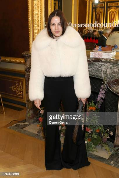 Kym Ellery attends the MATCHESFASHIONCOM dinner #MFx30yearsandcounting at the Hotel de La Salle on April 19 2017 in Paris France