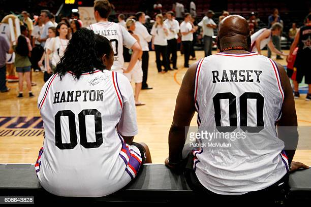 Kym Hampton and Cal Ramsey attend 5th Annual iStar Charity Foundation Event at Madison Square Garden on June 18 2007 in New York City