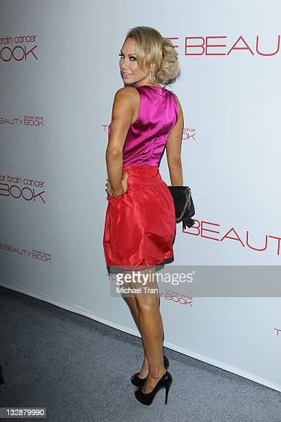 Kym Johnson arrives at the launch of the Beauty Book for Brain Cancer held at Grauman's Chinese Theatre on November 14 2011 in Hollywood California