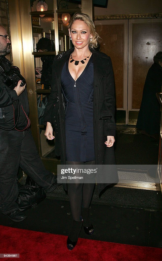 Kym Johnson attends the 'A Little Night Music' Broadway opening night at the Walter Kerr Theatre on December 13, 2009 in New York City.