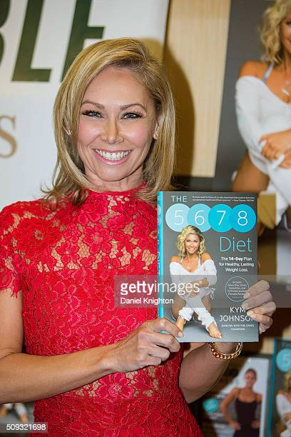 Kym Johnson of 'Dancing With The Stars' appears at her book signing for 'The 5678 Diet' at Barnes Noble on February 9 2016 in San Diego California