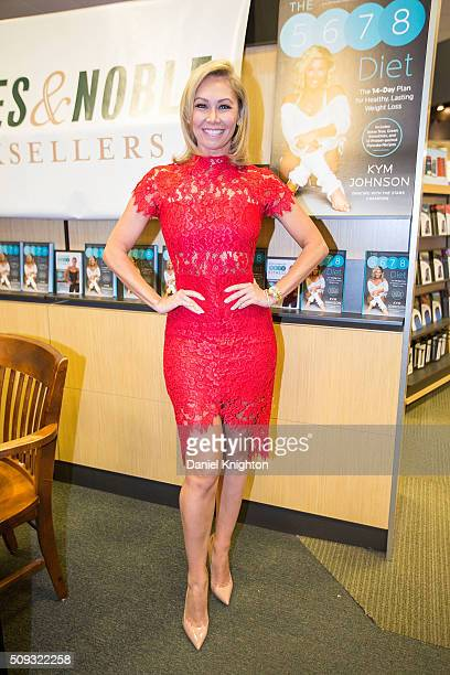 Kym Johnson of 'Dancing With The Stars' appears at her book signing for 'The 5678 Diet' at Barnes Noble on February 9 2016 in San Diego California Ê