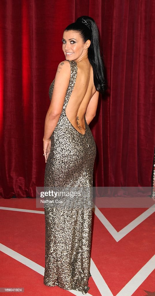Kym Lomas attends The British Soap Awards 2013 at Media City on May 18, 2013 in Manchester, England.