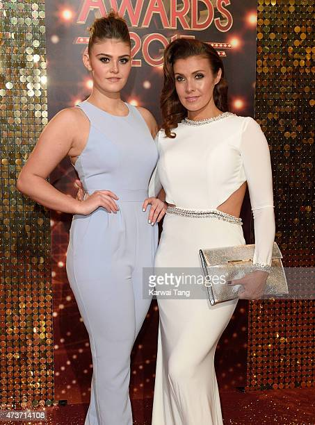 Kym Marsh and daughter Emily Cunliffe attend the British Soap Awards at Manchester Palace Theatre on May 16, 2015 in Manchester, England.