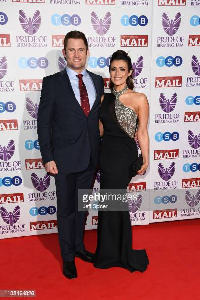 Kym Marsh and Scott Ratcliff attend The Pride of Birmingham Awards in partnership with TSB at University of Birmingham on March 26 2019 in Birmingham...