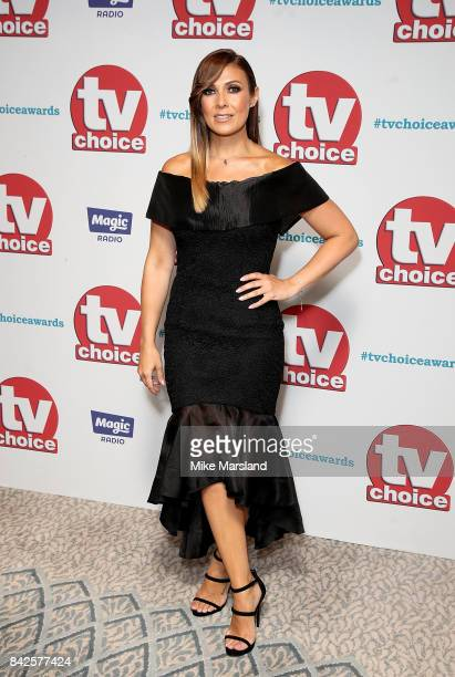 Kym Marsh arrives for the TV Choice Awards at The Dorchester on September 4 2017 in London England