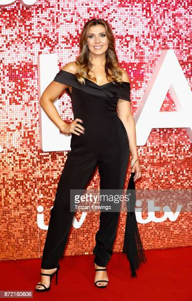 Kym Marsh arriving at the ITV Gala held at the London Palladium on November 9 2017 in London England