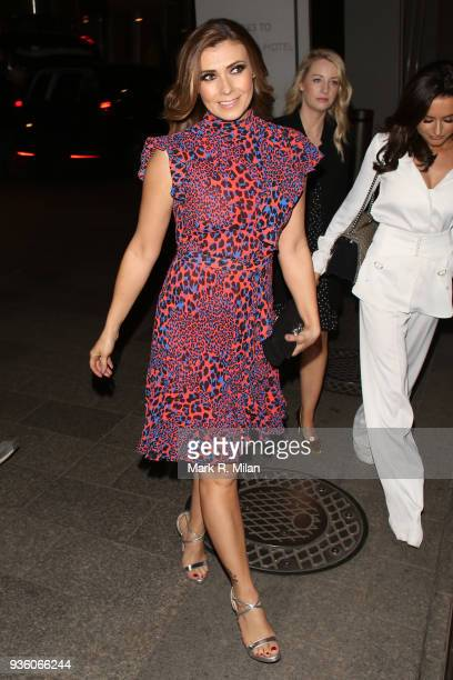 Kym Marsh attending the OK Magazine's 25th anniversary party at the Shard on March 21 2018 in London England